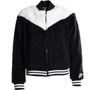 🎉HP🎉Nike Women's Sportswear Sherpa Bomber Jacket